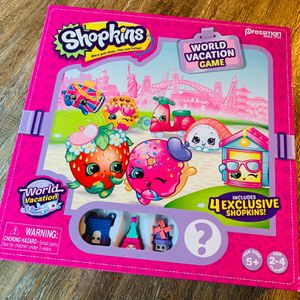 Pressman Shopkins World Vacation Game New In Box for Sale in Chino Hills, CA