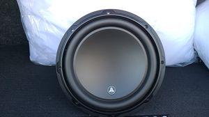 Only 1 speaker No Box .. JL Audio 10 w3 V3 / 4 for Sale in Las Vegas, NV