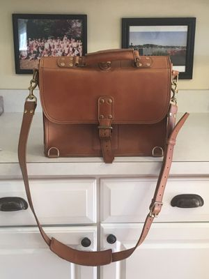 Marlondo leather briefcase for Sale in Annapolis, MD