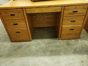 Free Oak Desk for Sale in Hayward, CA