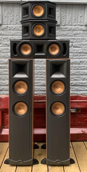 "KLIPSCH 5.1 Speakers 🔊 Marantz Powered sub Dual 12"" for Sale in Farmers Branch, TX"