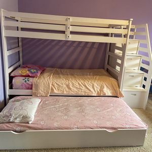 Bunk Bed With Trundle, Like New! for Sale in Boring, OR