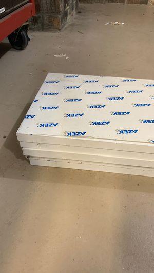 """Azek . PVC 3/4""""x 18' . 5 boards $150 for Sale in Virginia Beach, VA"""