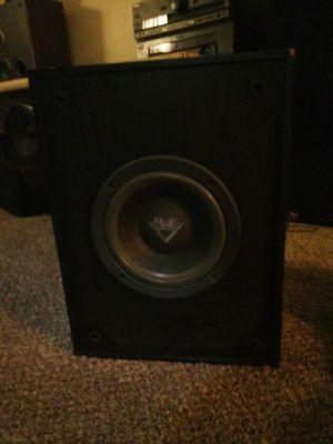 Klipsch sw8 2 black vinyl subwofer for Sale in Lakewood, CO