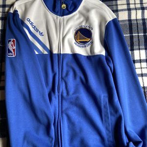 Adidas Warriors Track Jacket L for Sale in Union City, CA