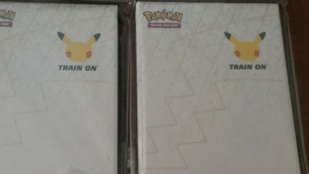 Pokemons 25th year edition collector binder for Sale in Tampa,  FL