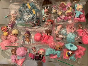 LOL Surprise LOT Dolls Series Underwraps & Boys for Sale in Miami, FL
