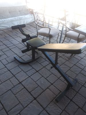 Weight bench excel for Sale in Stockton, CA