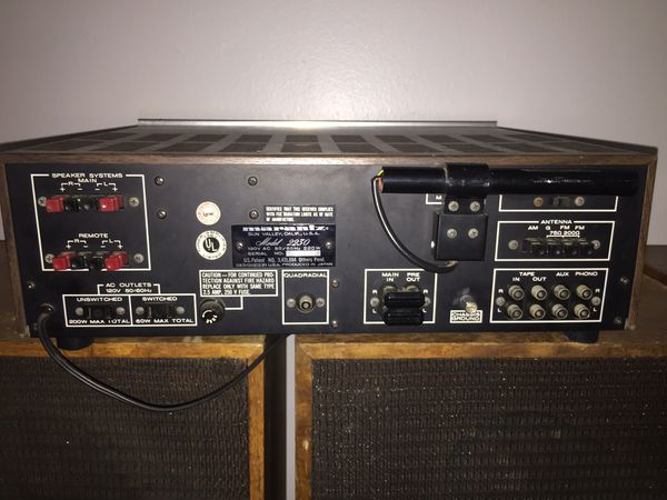 Vintage MARANTZ 2230 Reciever WITH matching marantz imperial 7 speakers. FULLY WORKING