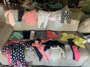 Baby girl clothes 3months and 3-6 months for Sale in Palmetto Bay, FL