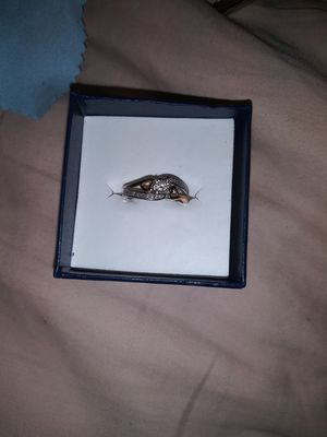 Rose Gold and White Gold Promise Ring for Sale in Fresno, CA