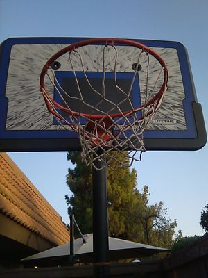 Basketball hoops adjustable regulation height for Sale in Fresno, CA