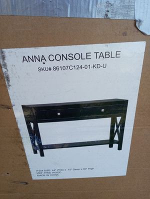 Anna console table for Sale in Washington, DC