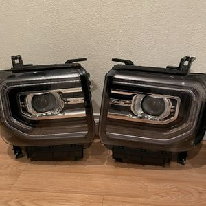 2016-18 GMC Sierra Denali OEM headlights for Sale in Fountain Valley, CA