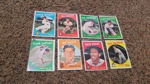 1959 topps baseball card lot of 8 high grade for Sale in Albuquerque, NM
