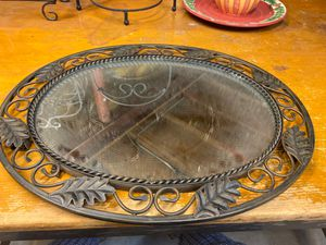 Large mirror tray - tabletop or wall mount for Sale in Plainfield, IL