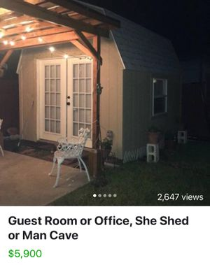 Guest Room, office, she shed or Man Cave for sale for Sale in San Antonio, TX