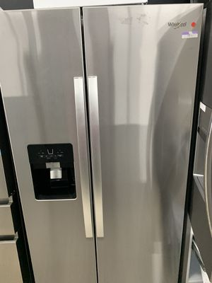 Whirlpool side by side in stainless steel for Sale in West Covina, CA