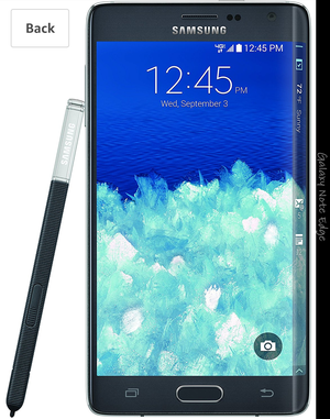 Unlocked Samsung Galaxy Note Edge, Charcoal Black 32GB for Sale in Knoxville, TN