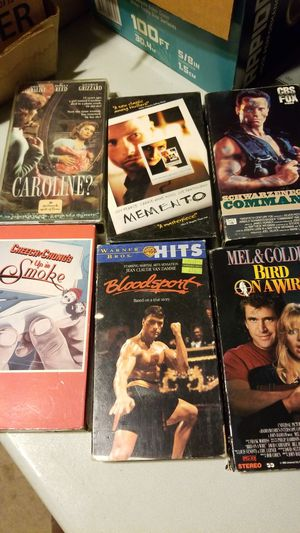 vhs all for $1.00 for Sale in Baldwin Park, CA