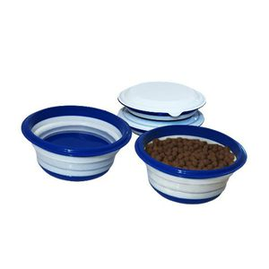 Collapsible Dog Bowl With Lid - 2 Pack for Sale in Forest Hill, MD