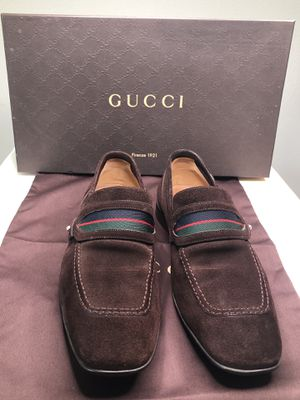💯 Gucci man shoes size 7 usa , still in very good condition 👍 for Sale in Santa Ana, CA