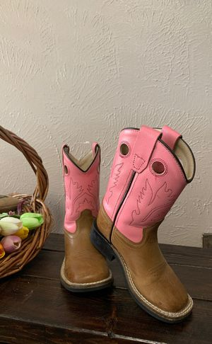 Old west toddler girl boots for Sale in Palm Valley, TX