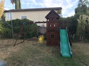 Backyard Monterey Cedar Swing/Play Set for Sale in Pasadena, CA