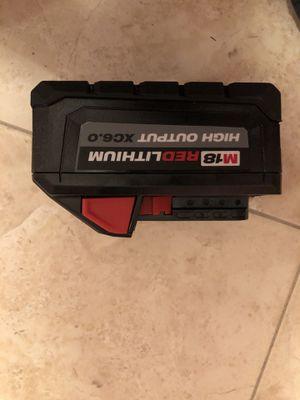 Baterías Milwaukee 6.0ah for Sale in West Palm Beach, FL