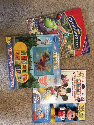 Mickey & Chuggington books for Sale in Springfield, VA