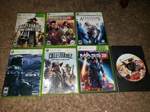 Xbox 360 lot 7 games for Sale in Hyattsville, MD
