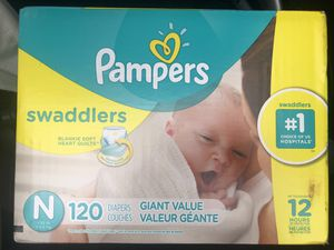 Pampers newborn for Sale in Miami, FL