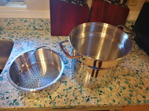 All clad strainer and vegetable steamer for Sale in Orlando, FL
