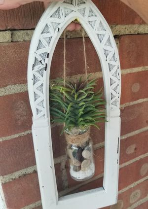 beautiful handmade hanging succulent decor for Sale in Brook Park, OH