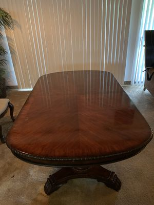 DINING TABLE, 10 CHAIRS 🪑, //////////////// MAKE A OFFER///////OBO/////////////////////// for Sale in Haines City, FL