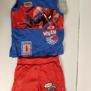 Spiderman Boy Tank Shirt Set Sz 2 for Sale in West Palm Beach, FL