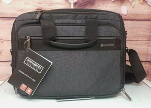 """Samsonite - Modern Utility Case for 13.5"""" Laptop - Charcoal/Charcoal Heather for Sale in Garden Grove, CA"""