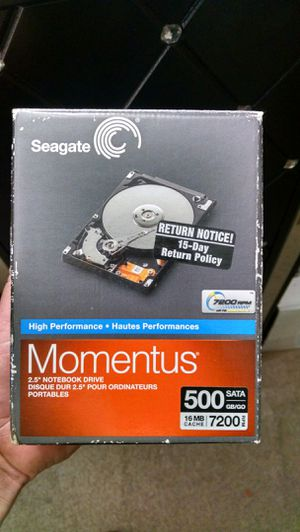 Momentus 500 gb drive for Sale in Salem, OR