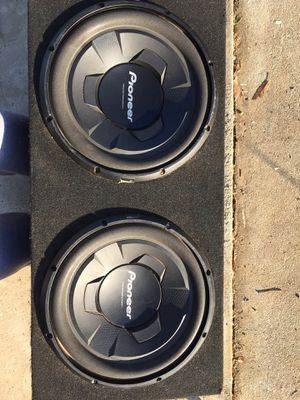 12inch Champion series Pioneer Subs for Sale in Wilton, CA