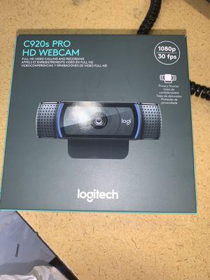 Logitech C920s Pro Webcam for Sale in Rahway, NJ