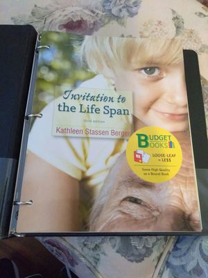 Invitation to the life span 3rd edition for Sale in Fort Lauderdale, FL