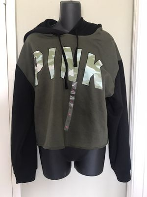 VS Pink jacket size large for Sale in Rancho Cucamonga, CA