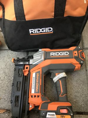 Ridgid hyper drive 18v for Sale in Fort Lauderdale, FL