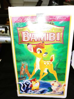 Bambi vhs for Sale in Griffith,  IN