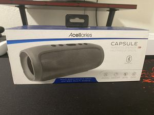 Acellories Bluetooth capsule speaker for Sale in San Mateo, CA