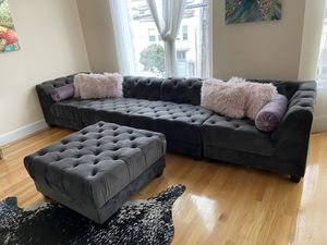 Couch and Ottoman for Sale in San Francisco, CA