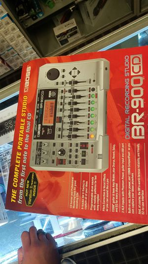 BOSS DIGITAL RECORDING STUDIO BR-900 CD for Sale in La Porte, TX