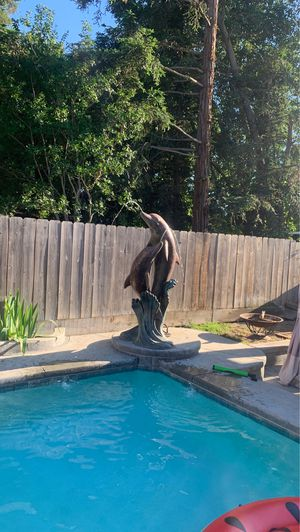 6 foot Dolphin pool statue for Sale in Fresno, CA