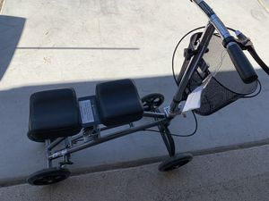 Knee bike and wheel chair both new for Sale in Las Vegas, NV
