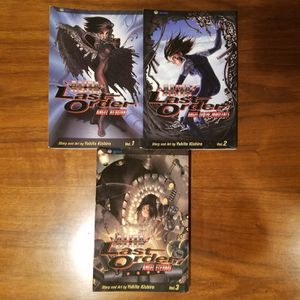 Battle Angel Alita Last Order Volumes 1, 2 and 3 Yuko Kishiro for Sale in Chevy Chase, MD